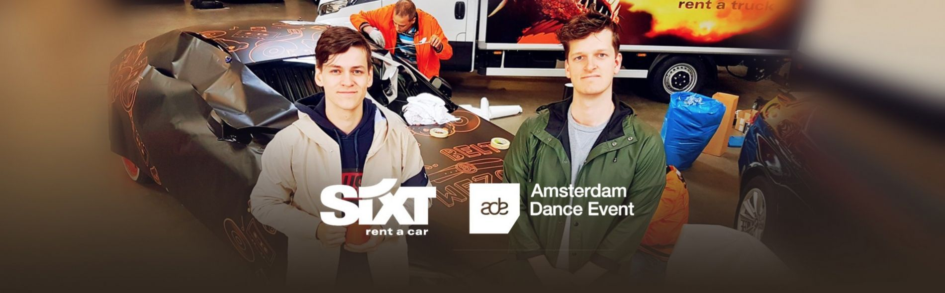 Mr. Belt & Wezol's ADE demo ride with SIXT