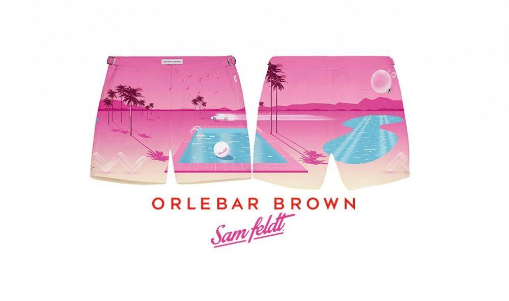 Orlebar Brown X Sam Feldt